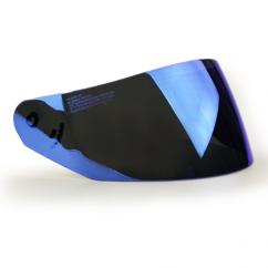 Visière  iridium bleu LS2