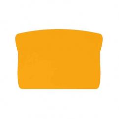 Plaque adhésive jaune