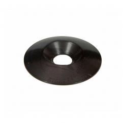Rondelle de siège alu noir