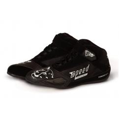 Chaussure karting Speed TORINO KS-3 noir/blanc