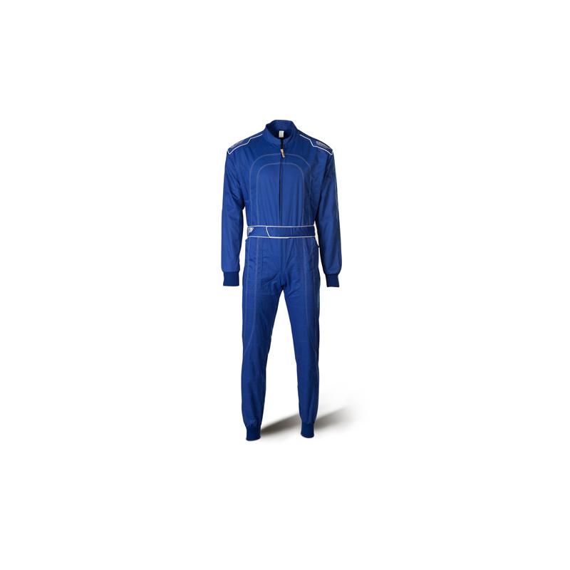 Combinaison de karting bleu XS