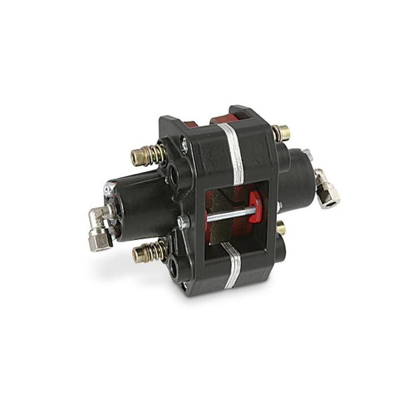 Etrier de frein arrière hydraulique 2 pistons noir