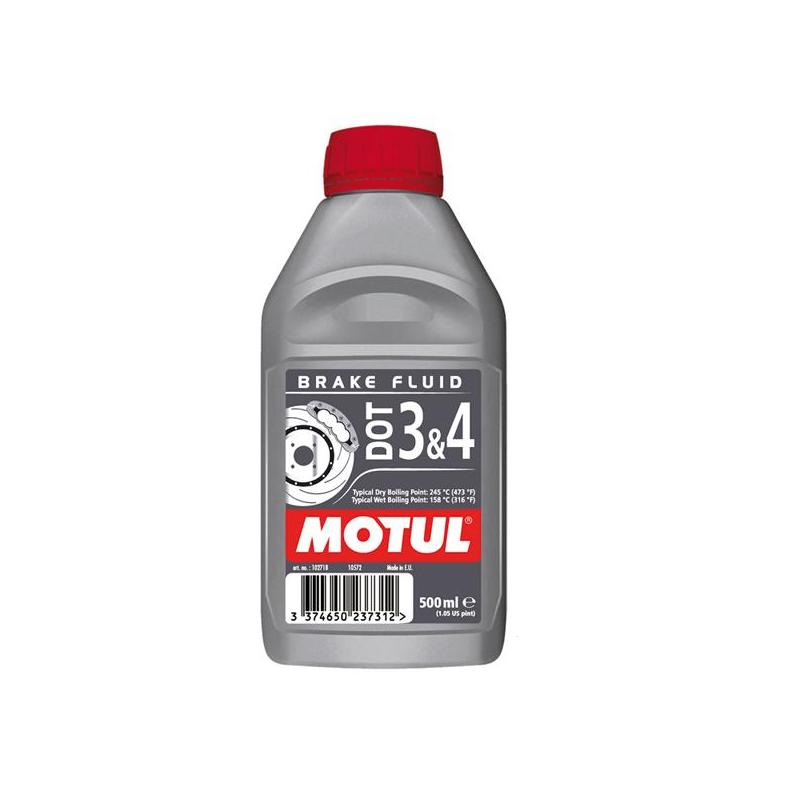 Liquide de frein motul DOT 3& 4