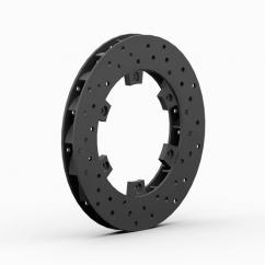 Disque de frein percé et ventilé, diamètre 200 mm Ep 18mm